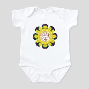 Peace Flower - Omm Infant Bodysuit