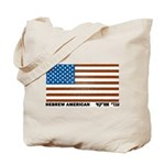 Jewish Flag Tote Bag