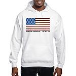 Jewish Flag Hooded Sweatshirt