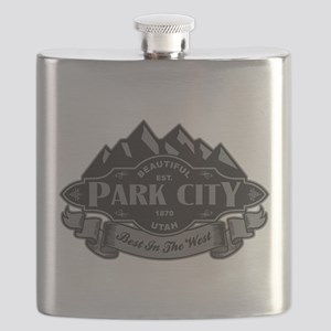 Park City Mountain Emblem Flask