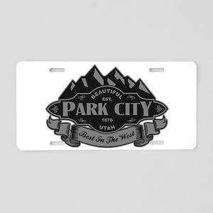 Park City Mountain Emblem Aluminum License Plate