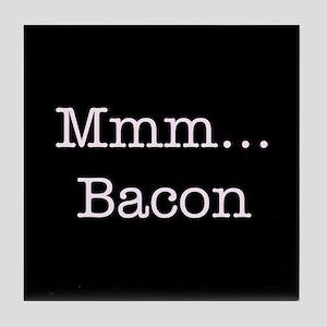 Mmm ... Bacon Tile Coaster
