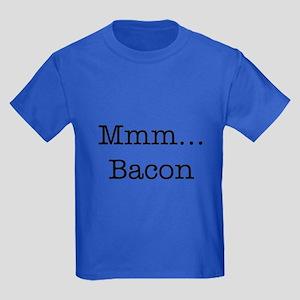 Mmm ... Bacon Kids Dark T-Shirt