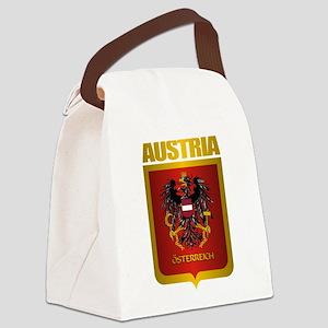 Austrian Steel (shirt) Canvas Lunch Bag