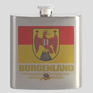 Burgenland (Flag 10) Flask