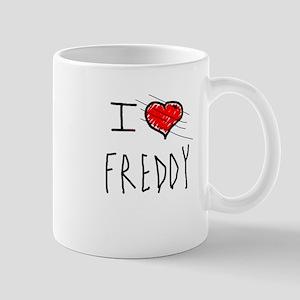 i love Halloween Freddy Mug