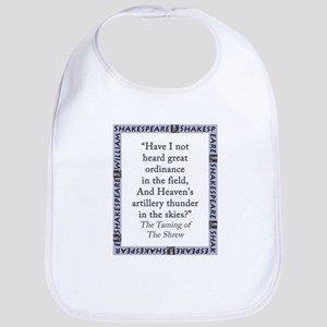 Have I Not Heard Great Ordinance Cotton Baby Bib
