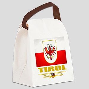 Tirol (Flag 10) Canvas Lunch Bag