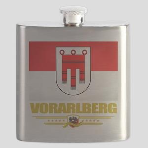 Vorarlberg (Flag 10) Flask