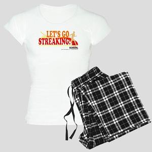 Streaking Women's Light Pajamas