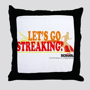 Streaking Throw Pillow