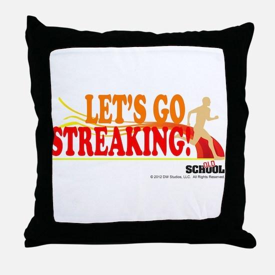 Streaking Throw Pillow