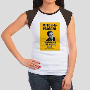 Mitch-A-Palooza Women's Cap Sleeve T-Shirt