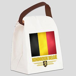Belgium (Flag 10) Canvas Lunch Bag