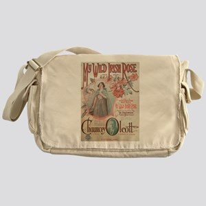 My Wild Irish Rose Messenger Bag