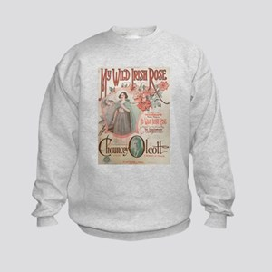 My Wild Irish Rose Kids Sweatshirt