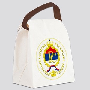 Srpska COA Canvas Lunch Bag