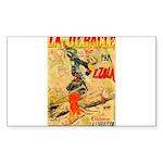 La Debacle Vintage Art Sticker (Rectangle 10 pk)