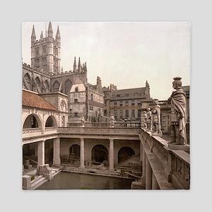 Roman Baths and Abbey Queen Duvet