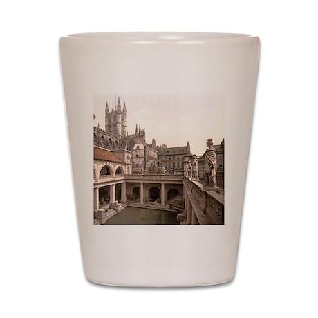 Roman Baths and Abbey Shot Glass