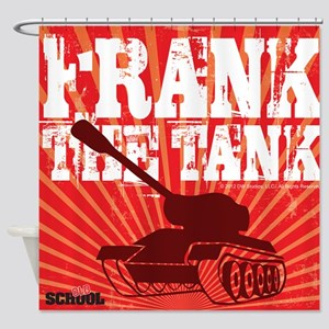 Frank The Tank Shower Curtain