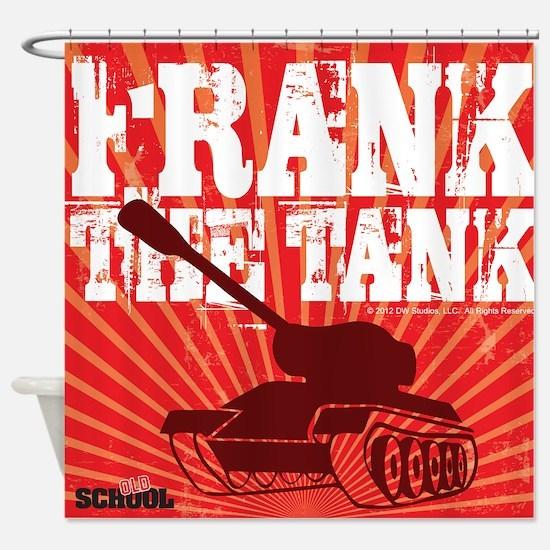 Frank The Tank Shower Curtain
