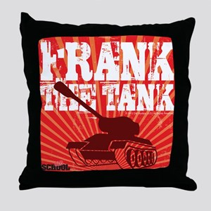 Frank The Tank Throw Pillow
