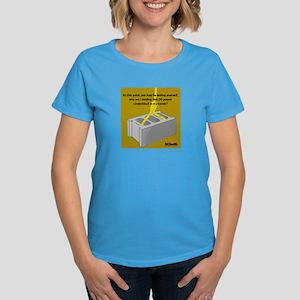 Cinder Block Women's Dark T-Shirt