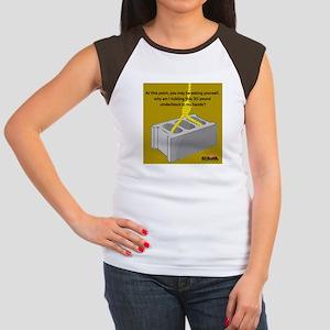 Cinder Block Women's Cap Sleeve T-Shirt