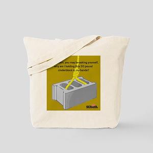 Cinder Block Tote Bag