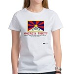 Where's Tibet. Seriously... Women's T-Shirt