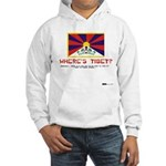 Where's Tibet. Seriously... Hooded Sweatshirt