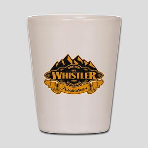 Whistler Mountain Emblem Shot Glass