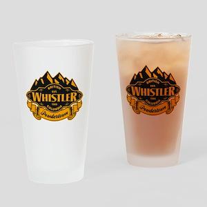 Whistler Mountain Emblem Drinking Glass