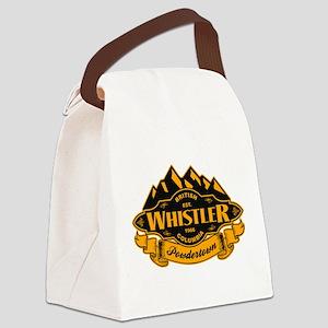 Whistler Mountain Emblem Canvas Lunch Bag