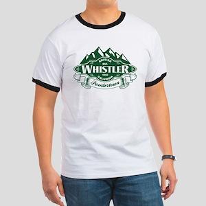 Whistler Mountain Emblem Ringer T