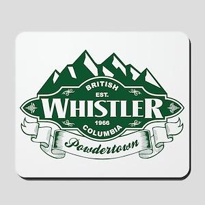 Whistler Mountain Emblem Mousepad