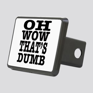 Oh wow, that's dumb. Rectangular Hitch Cover