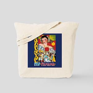 1937 Panama Carnival Tote Bag