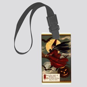 witches may be seen Large Luggage Tag