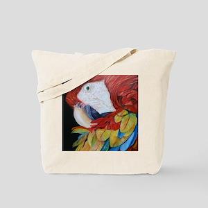 3-Scarlet Macaw.jpg Tote Bag