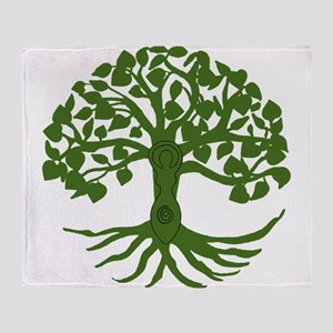 tree of life Throw Blanket