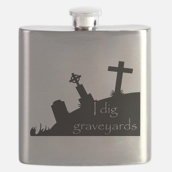 i dig graveyards Flask