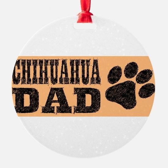 Chihuahua Dad Ornament