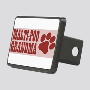 Malti-Poo Grandma Rectangular Hitch Cover