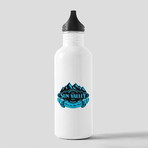 Sun Valley Mountain Emblem Stainless Water Bottle