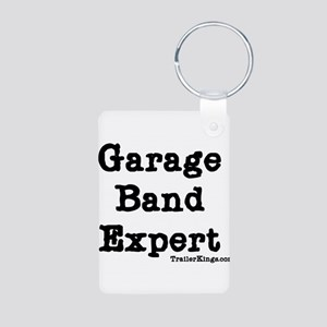 garage band expert 1 Aluminum Photo Keychain