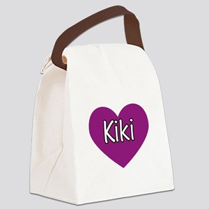 Kiki Canvas Lunch Bag