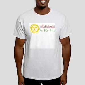Christmas in the Sun Ash Grey T-Shirt