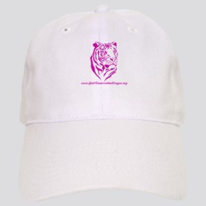 Tiger in pink Cap